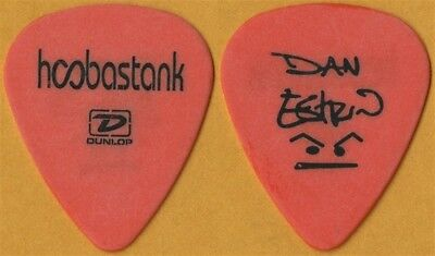 Hoobastank Dan Estrin authentic 2004 tour custom stage signature Guitar Pick