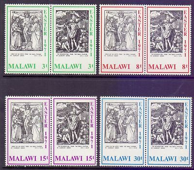 Malawi  1971  Easter Paintings by Durer, MNH.