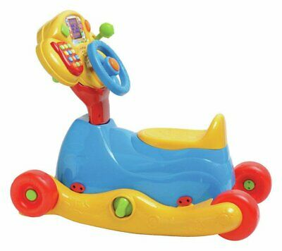 VTech 3in1 Grow & Go Ride-On LED Display 6+ Months