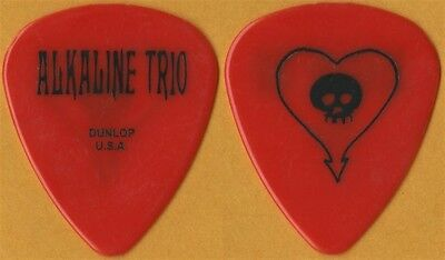 Alkaline Trio Matt Skiba authentic 2007 tour issued band Guitar Pick Blink 182