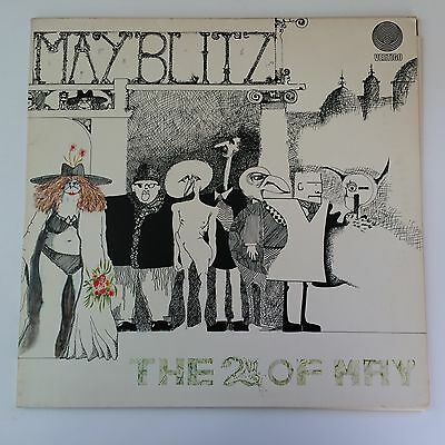 MAY BLITZ – The 2nd of May orig. german 1st press SWIRL 1971 NM rare Prog Promo!