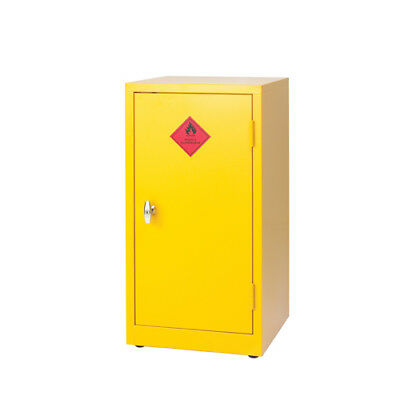 Hazardous Substance Storage Cabinet 36X18X18 inch C/W 1 Shelf Yellow 188740
