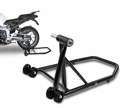 Paddock stand rear Single Ducati Streetfighter 848 11-15 black single sided swin