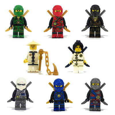 Phantom Ninja LEGO Ninjago Masters Cartoon characters Educational Toys Gift