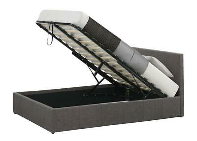 Modern Ottoman Storage Gas Lift Up Bed 3Ft, 4Ft, 4Ft6 And 5Ft Fabric Bed