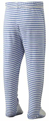 ScratchSleeves | PJ bottoms with feet | Discontinued style | Stripes | 6m to 4y