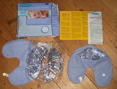 Lansinoh therapearl hot cold breast therapy feeding /nursing heatpacks  1 unused
