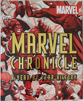 Marvel Chronicle: A Year by Year History DK, Marvel Comics (Hardback, 2012)