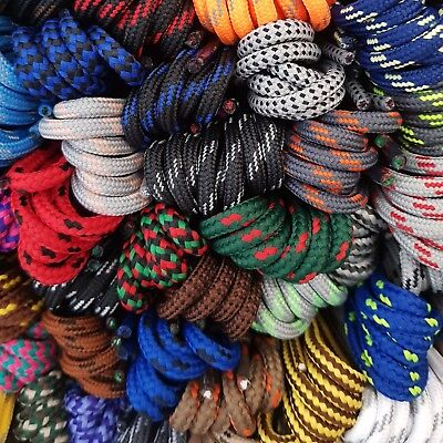 Strong Round Shoe Boot Laces - Huge choice 50+ patterned designs - Length 210 cm