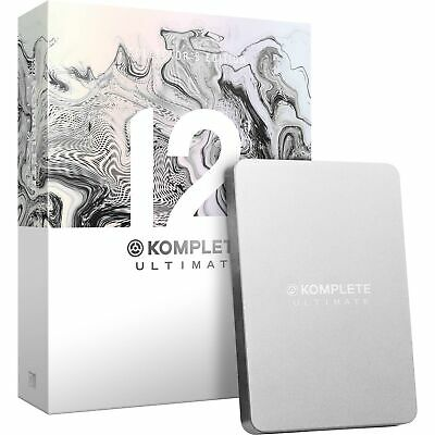 Native Instruments Komplete 12 Collector's Edition (Upgrade From Komplete 8-12)