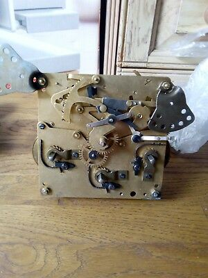 HALLER westminster MANTLE mantle clock movement mechanism