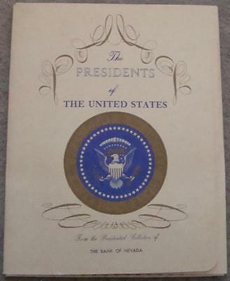 Individual Lithographs Of Our First 35 Presidents  On Vegetable Parchment Paper