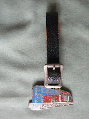 Railroad Watch Fob from Conrail RR with its Leather Strap in Excellent Cond.