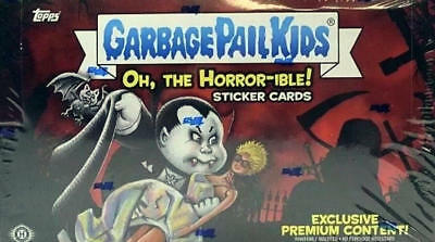 2018 Garbage Pail Kids Series #2 Oh, the Horror-ible COLLECTOR BOX NEW SEALED!!