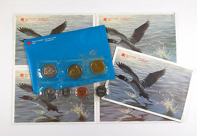 1993 - 1996 & 1998, 1999 Canada Uncirculated Coin Sets - 6 Set Lot