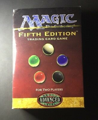 Fifth Edition 2 Player Starter Deck MTG Magic with Bonus Booster Pack Sealed 5th
