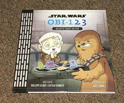 Star Wars OBI-123 Children's Counting Book Hardcover