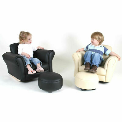 Valco Baby Kiddy Sofa Couch Ottoman Foot Rest Seat Kids Padded Lounge Chair