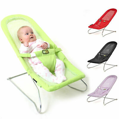 Vee Bee Serenity Newborn Infant Baby Bouncer Chair Bouncing Rocking Seat