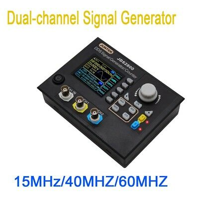 DDS Dual-Channel signal generator waveform Pulse Sweep Counter Frequency meter