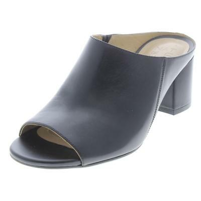 ce307591966 NATURALIZER WOMENS CYPRINE Leather Dress Slide Mules Shoes BHFO 3537 ...