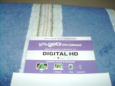 how the grinch stole christmas 2015 digital hd code only - How The Grinch Stole Christmas 2015