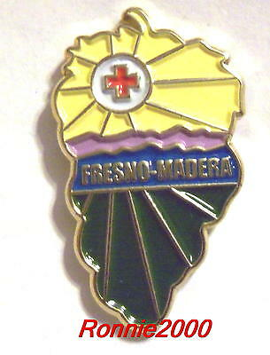 FRESNO-MADERA CHAPTER  American Red Cross pin HARD TO FIND LAST ONE!