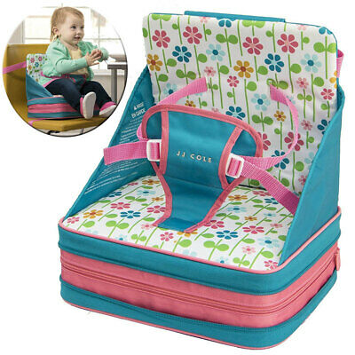 JJ Cole Baby Toddler 9m+ Portable G Feeding Booster Foldable Seat for High-Chair