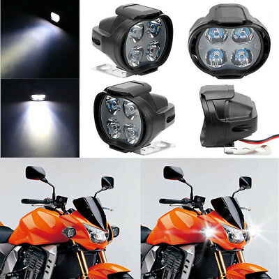 Motorcycle Headlight Spot  Lights Head Lamp LED Front DC12V Driving Gift