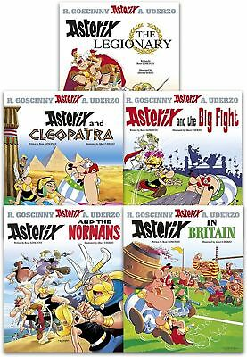 Asterix and Cleopatra Series 2 Big Fight Normans Legionary 5 Books Set PB NEW