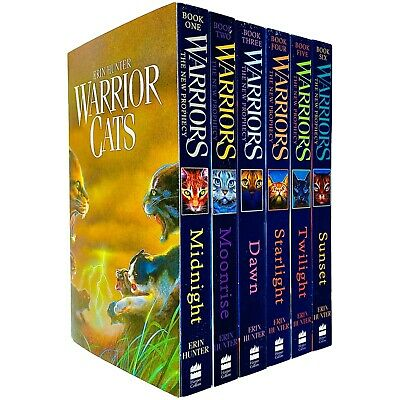 Warrior Cats Series 2 Collection 6 Books By Erin Hunter Set Prophecy pb NEW