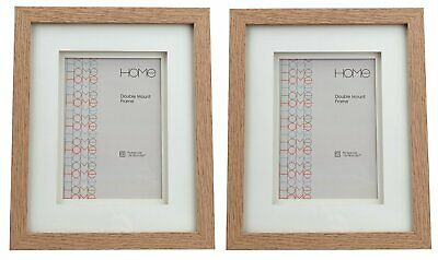 Argos Home Set of 2 5x7 Inch Double Mount Frames