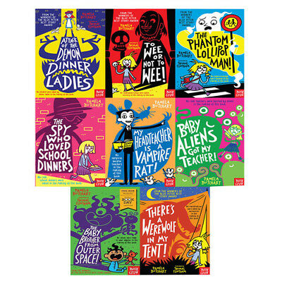 Pamela Butchart Baby Aliens Series 8 Books Collection World Book Day 2018 Set