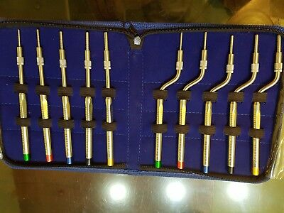 Dental Implantation Osteotomes Instruments Sinus Offset Handle Convex Tip