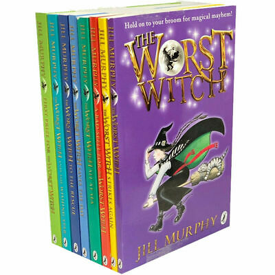 Jill Murphy The Worst Witch Collection,The Worst Witch,8 Books Set PB NEW