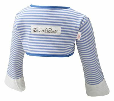 ScratchSleeves | Stay on Scratch mitts | Imperfects | Stripes | Toddler