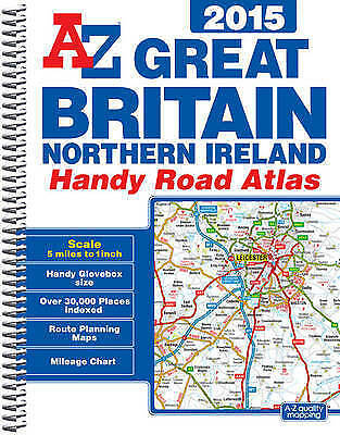 A-Z Great Britain Handy Road Atlas 2015 (Geographers a-Z), Geographers A-Z Map C