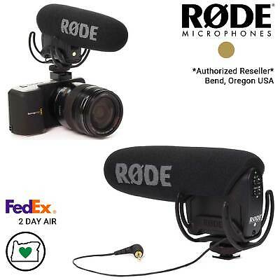Rode VMPR VideoMic Pro-R Camera Microphone with Rycote Lyre Shockmount