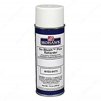 Mohawk No Blush Plus Retarder    Remove the cloudy area on your table