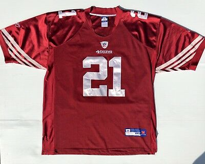 Men s 54 Authentic Reebok San Francisco 49ers  21 Frank Gore Jersey  Stitched Red fbf6e2047