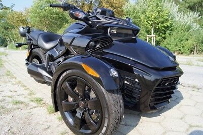 Can-Am Spyder F3 2018, schwarz metallic, 1. Hnd., 4.300km, 1a top Zustand
