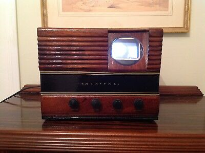 """Vintage Retro Television Set Early 1940's 3"""" Screen"""