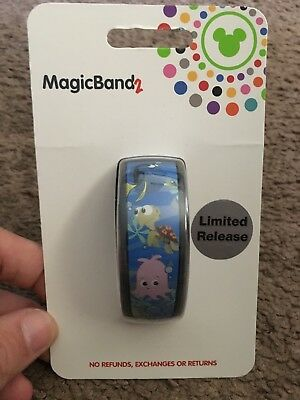 Walt Disney World Magic Band Magicband 2 Epcot The Seas With Nemo And Friends LR