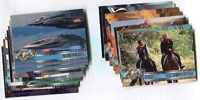 STAR TREK: CINEMA 2000 Base Card LOT NM/M!!! 42 Cards SKYBOX