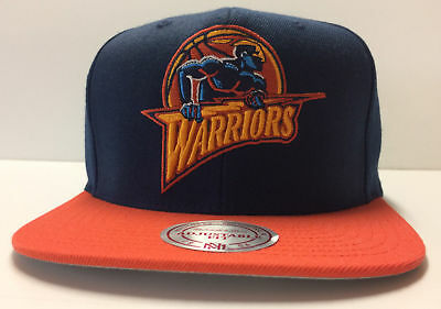 2429fbeb55d Golden State Warriors Mitchell   Ness Snapback Hat RARE LIMITED Cap Curry  Rookie