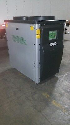 2011 Temptec Air Cooled 10 Ton Portable Water Chiller Great Condition