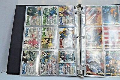 Marvel Masterpieces 1992 Complete Trading Card Set