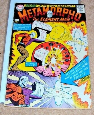 Metamorpho #1 Key Issue Short Series 1965 Silver Age Dc Comics