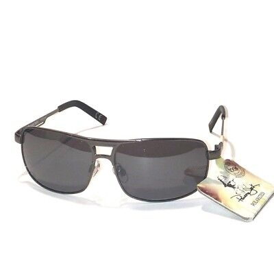 530fb96f6dd NEW men PANAMA JACK SUNGLASSES POLARIZED Gun Metal Grey Lens Reduced Glare!