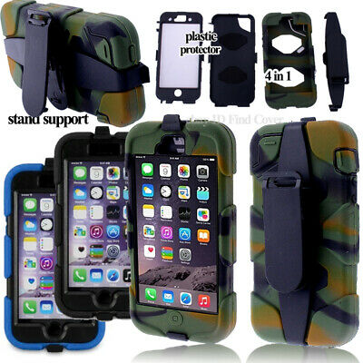 Heavy Duty Military Rugged Anti Shock Proof Stand Cover for iphone 6  4.7inch